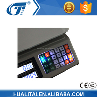 acs-30 price computing scale with keypad light