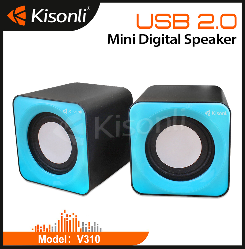 Promotional Gift Novelty USB 2.0 Speaker for Computer/Laptop/Mobile at competitive price
