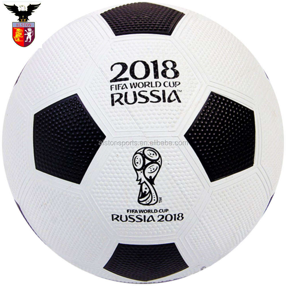 2018 World Cup Size 5 Rubber Material Soccer Ball Football