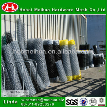 professional manufacture 9 gauge chain link fence