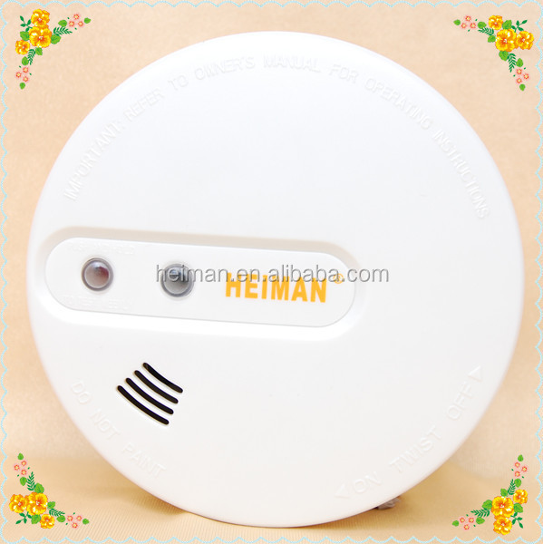 Best seller in Northern Europe! Radio frequency 433/315 Mhz Wireless Optical Smoke Detector