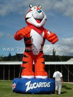 new custom design inflatable tiger for outdoor show and decoration N2046(1)