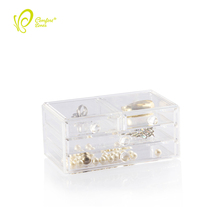 Direct Manufacturer Clear Jewelry Desk Organizer 4 drawer Big Organizer for Makeup