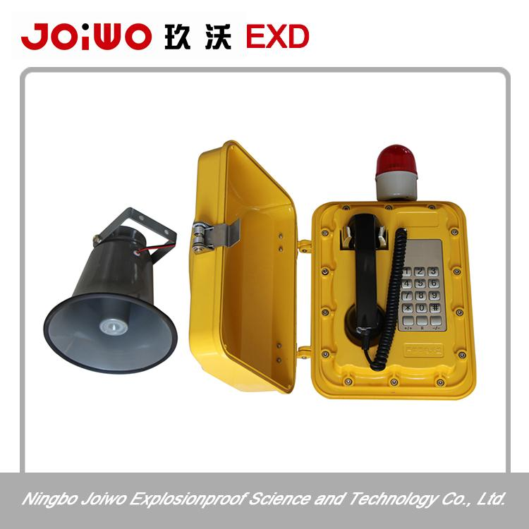 Water Resistant lineman telephone set/stainless steel safe city telephone led restaurant telephone