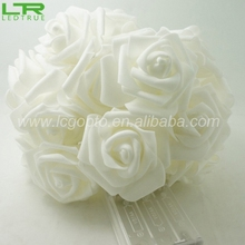 Battery Operated Wedding Decoration String Led Rose Light
