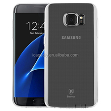 Ultrathin Transparent Soft TPU Protective Case for Samsung Galaxy S7 Edge