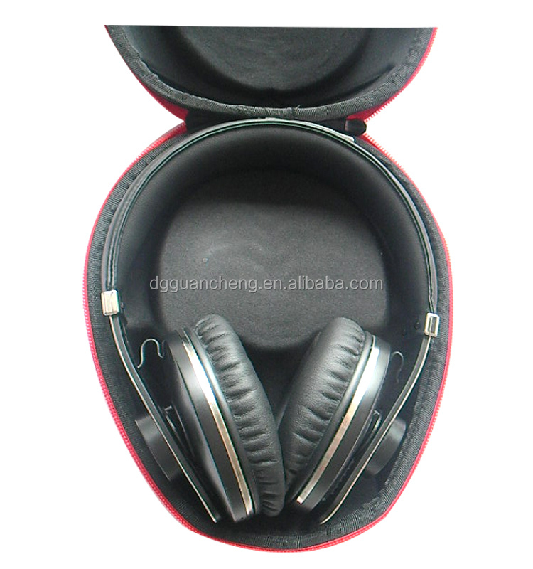 GC---FASHION Selling red color EVA moulded Earphone boxes packaging