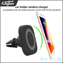 Electric car charging stations magnetic car wireless charger fast charging for iPhone 8