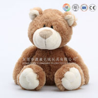 OEM Factory Brown joined teddy bear with movable arms and legs