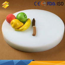 thick plastic chopping board round cutting board