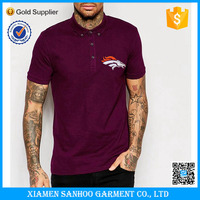 Custom Made Plain Printing Men Polo T Shirts In Bulk Sale