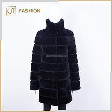 Wholesale Winter Real lamb fur Sheepskin fur coat for women