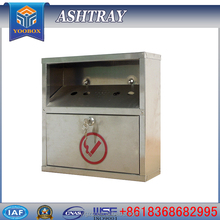 WUYI YUNLIN YOOBOX the high quality new product stainless steel ashtray and cigarette box the waterproof ashtray