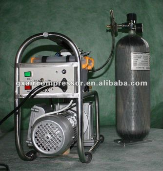 GX /OEM 4500 psi high pressure electric compressor -lower noice and light weight ,small volum