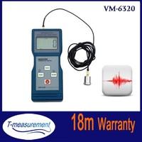 VM6320 Digital vibrometer, portable vibration measurement equipment