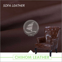 Shaoxing leatherette manufacturer Flexible Furniture making material pu sofa leather