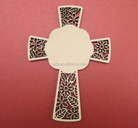 Wood rood decorative wooden crosses, wooden crosses for craft