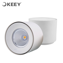 KEEY Camera Surface Mounted Led COB Downlight 9W 13W 18W Cree Led Chips Warm White QYR1-MTD411W