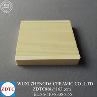 ceramic alumina small corrugated crucible pot