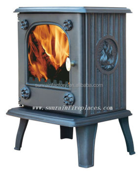 cast iron wood/coal burning stove/stoves multifuel