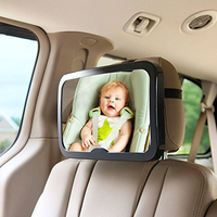 Baby Back Seat Car Mirror High