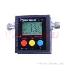 2016 New style SW-102-VU 100-520 MHz Digital radio swr meter for mobile radio