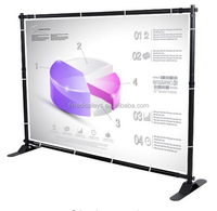 10 x 8 Feet Adjustable Telescopic Backdrop Banner Display Stand