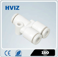 China supplier the plastic quick connect pneumatic fitting of mini fitting H-KJU
