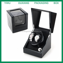 stock carbon fiber finish luxury wooden watch winder cheap price