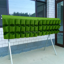 42 Pockets Vertical Garden Hanging Outdoor Planter Bag