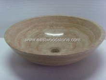 Chinese travertine vanity sinks 9988
