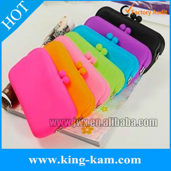 long silicone purse, silicone mobile phone bag , silicone glasses bag