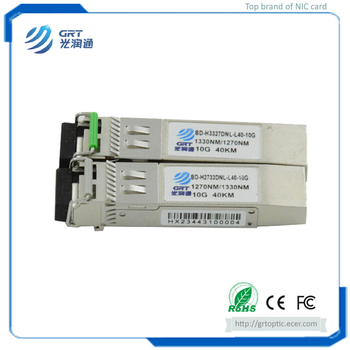 Brand new SFP+ BIDI 80KM 1490/1550nm TX / 1550/1490 nm RX Optical Transceiver