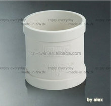 GB standard water drainage fitting white pvc coupling with good price