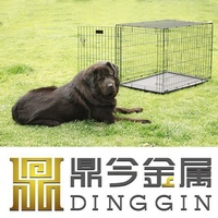 "48"" metal dog cage factory"