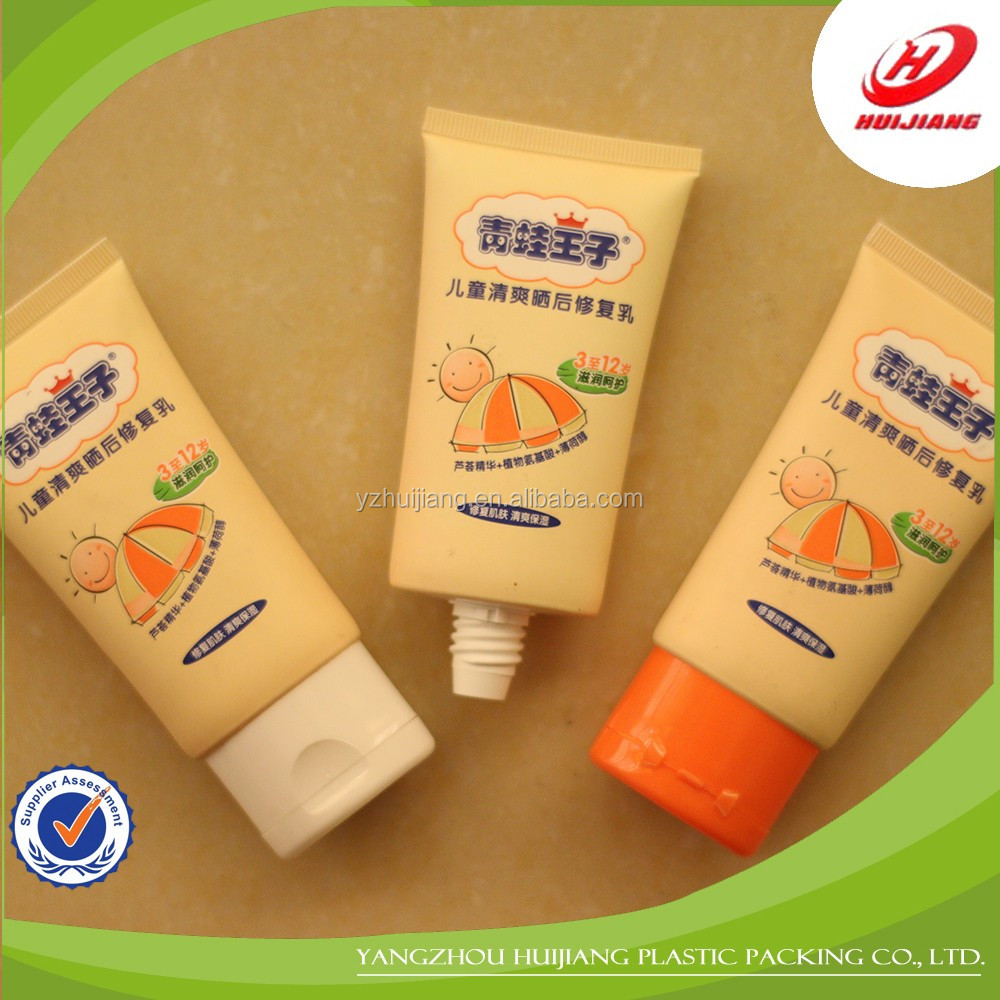 Hot Selling Cosmetic Tube Cosmetic Plastic Container