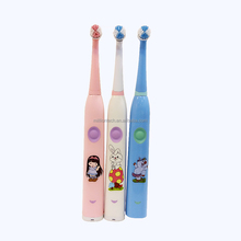 waterproof vibrating electric sonic toothbrush simple kids toothbrush with changeable heads
