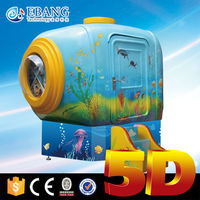 Attractive mobile mini 5d cinema with cabin