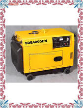 Modern AC three phase output 12kva silent diesel generator for sale with CE approved