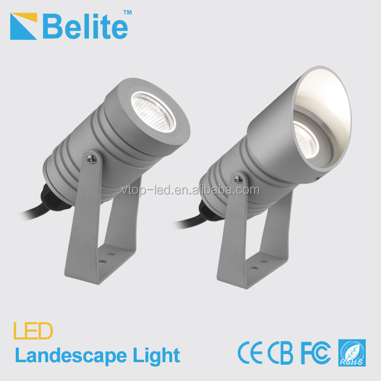 5W outdoor 12V led garden lights with spike option