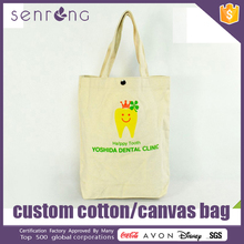Beach Bag Cotton Rope Canvas Tote Bags With Waterproof Lining