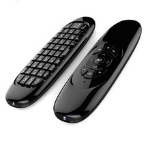 Popular Android c120 air mouse russian keyboard remote for smart tv flying mouse remote