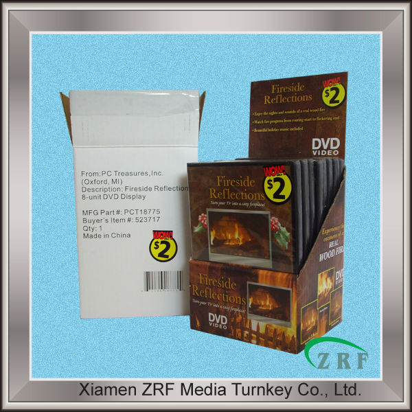 DVD Replication DVD media Packaging Case with PDQ