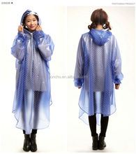 Promotional waterproof high quality for bicycle rain poncho