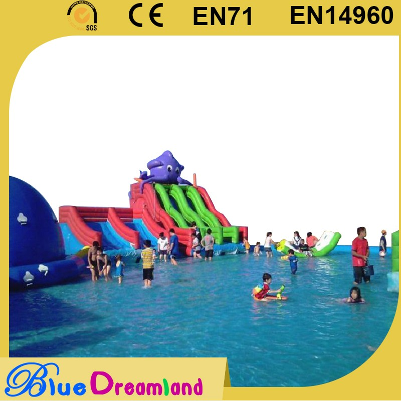 High quality mobile water amusement park inflatable