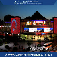 HD Video DIP Billboard LED Outdoor Display for Building