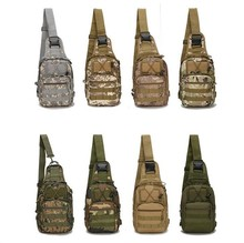 Low price bulk camouflage outdoor branded military shoulder sling bag