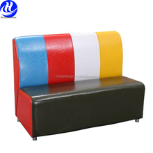 Wholesale restaurant booth seating sofa and table sets
