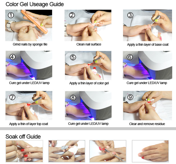 Long lasting easy soak off one step gel nail polish suppliers