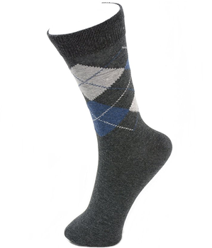 Cheap whosale man cotton casual dress sock
